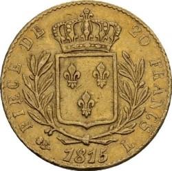 Монета > 20франков, 1814-1815 - Франция  - reverse