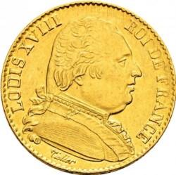 Moneta > 20franków, 1814-1815 - Francja  - obverse