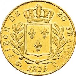 Moneta > 20franków, 1814-1815 - Francja  - reverse