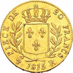 Coin > 20francs, 1814-1815 - France  - reverse