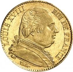 Moneda > 20francos, 1814-1815 - Francia  - obverse