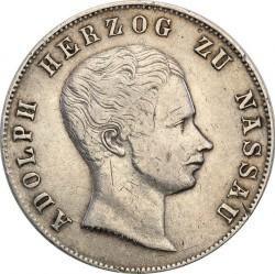 Монета > 2гульдена, 1846-1847 - Нассау  - obverse
