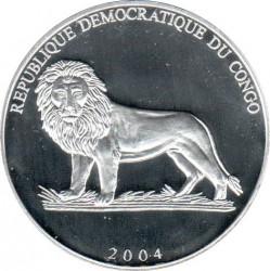 Moneta > 10franków, 2004 - Kongo - KRD  (Futbol - Włochy) - obverse