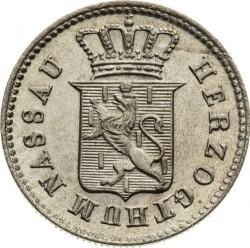 Монета > 1крейцер, 1832-1835 - Нассау  - obverse
