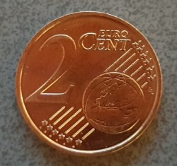 Pièce > 2centimesd'euro, 2018 - Allemagne  - reverse