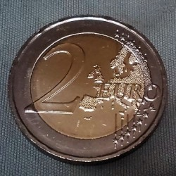 Coin > 2euro, 2018 - Greece  (75th Anniversary - Death of Kostis Palamas) - obverse