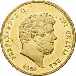 Кованица > 30ducat, 1850-1852 - Две Сицилије  - obverse