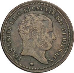 Moneta > 2tornesi, 1825-1826 - Due Sicilie  - obverse