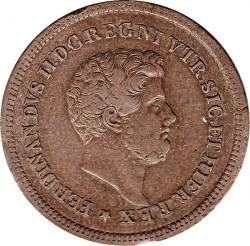 Кованица > 3tornesi, 1839-1858 - Две Сицилије  - obverse