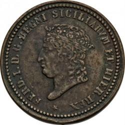 Кованица > 5tornesi, 1819-1820 - Две Сицилије  - obverse