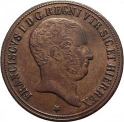 Кованица > 10tornesi, 1825 - Две Сицилије  - obverse