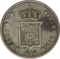 Moneta > 10grani, 1832-1835 - Dwie Sycylie  - reverse