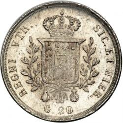 Кованица > 20grani, 1826 - Две Сицилије  - reverse