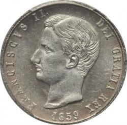 Moneta > 20grani, 1859 - Dwie Sycylie  (Franciszek II) - obverse
