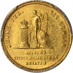 Moneda > 3ducados, 1826 - Dos Sicilias  - reverse
