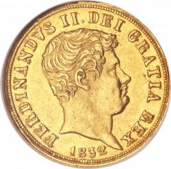Кованица > 3ducat, 1831-1837 - Две Сицилије  - obverse