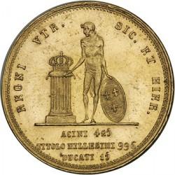 Кованица > 15ducat, 1825 - Две Сицилије  - reverse