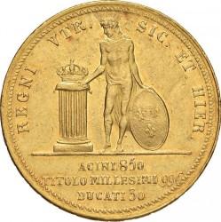 Кованица > 30ducat, 1825-1826 - Две Сицилије  - reverse