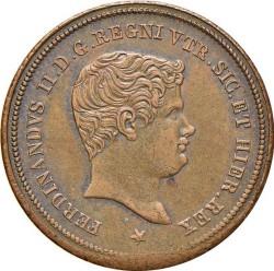 Кованица > 3tornesi, 1833-1838 - Две Сицилије  - obverse