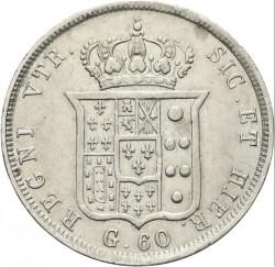 Кованица > 60grani, 1835-1839 - Две Сицилије  - reverse