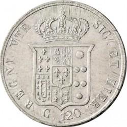 Кованица > 120grani, 1851-1859 - Две Сицилије  - reverse