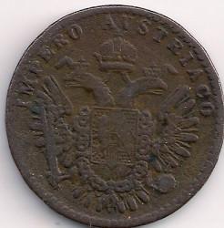 Монета > 5чентезимо, 1852 - Ломбардо-Венеційське  - reverse