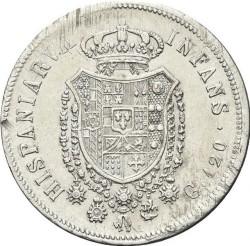 Moneta > 120grani, 1818 - Dwie Sycylie  (Mała głowa) - reverse