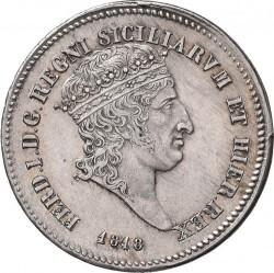 Кованица > 60grani, 1818 - Две Сицилије  - obverse