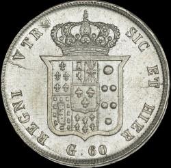 Кованица > 60grani, 1831-1834 - Две Сицилије  - reverse
