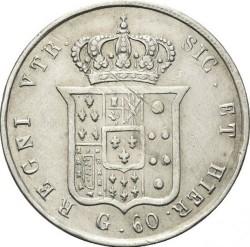 Кованица > 60grani, 1846-1859 - Две Сицилије  - reverse