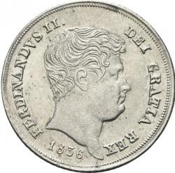 Кованица > 10grani, 1835-1839 - Две Сицилије  - obverse