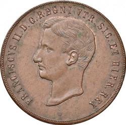 Кованица > 10tornesi, 1859 - Две Сицилије  (Lily on reverse) - obverse