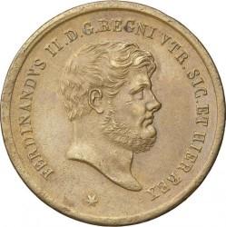 Moneda > 10tornesi, 1851-1859 - Dos Sicilias  - obverse