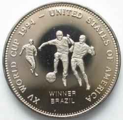 Moneda > 2000kwacha, 1994 - Zambia  (1994 FIFA World Cup /Winner Brazil/) - reverse