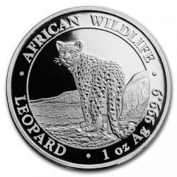 Moneta > 100szylingów, 2018 - Somalia  (Przyroda Afryki - Leopard) - obverse