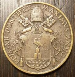 Mynt > 10centesimi, 1939-1941 - Vatikanstaten  - obverse