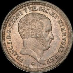 Кованица > 5tornesi, 1826-1827 - Две Сицилије  - obverse