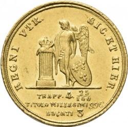 Кованица > 3ducat, 1850-1856 - Две Сицилије  - reverse