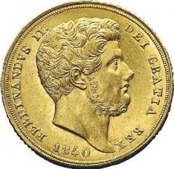 Кованица > 6ducat, 1840 - Две Сицилије  - obverse