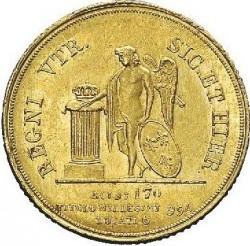 Кованица > 6ducat, 1840 - Две Сицилије  - reverse