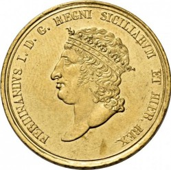 Кованица > 30ducat, 1818 - Две Сицилије  - obverse