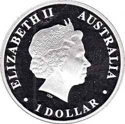 Moneta > 1dolar, 2009 - Australia  (Odkryj Australię - Delfin) - obverse