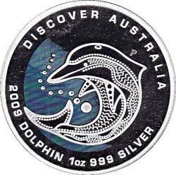 Moneta > 1dolar, 2009 - Australia  (Odkryj Australię - Delfin) - reverse