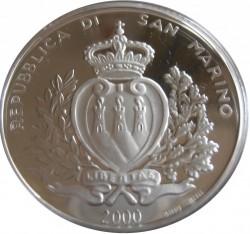 Moneta > 10000lire, 2000 - San Marino  (Primo Giubileo dell'Anno Santo) - obverse