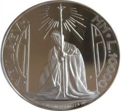 Moneta > 10000lire, 2000 - San Marino  (Primo Giubileo dell'Anno Santo) - reverse