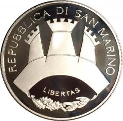 Moneta > 10euro, 2006 - San Marino  (Antonio Canova, Le Grazie) - obverse