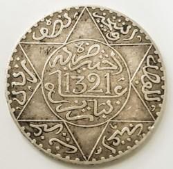 Moneda > ½rial, 1902-1905 - Marruecos  - reverse