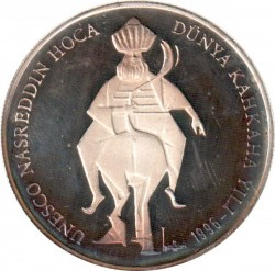 Münze > 750.000Lira, 1996 - Türkei  (Hodscha Nasreddin) - reverse