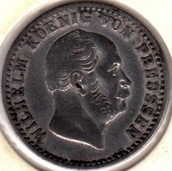 Moneda > 2½groschendeplata, 1861-1873 - Prusia  - obverse