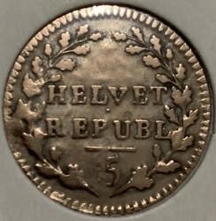 Moneta > ½batzen, 1799-1803 - Svizzera  - reverse